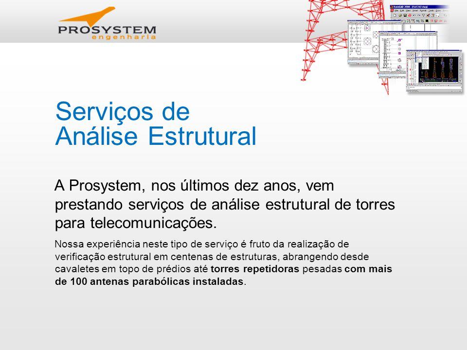 Serviços de Análise Estrutural