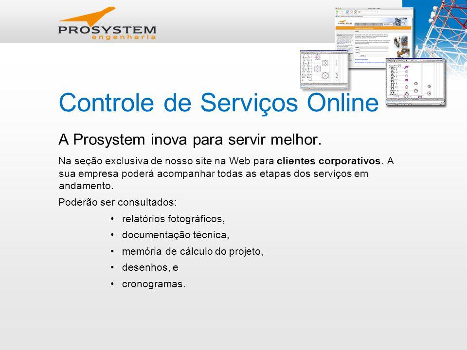 Controle de Serviços Online