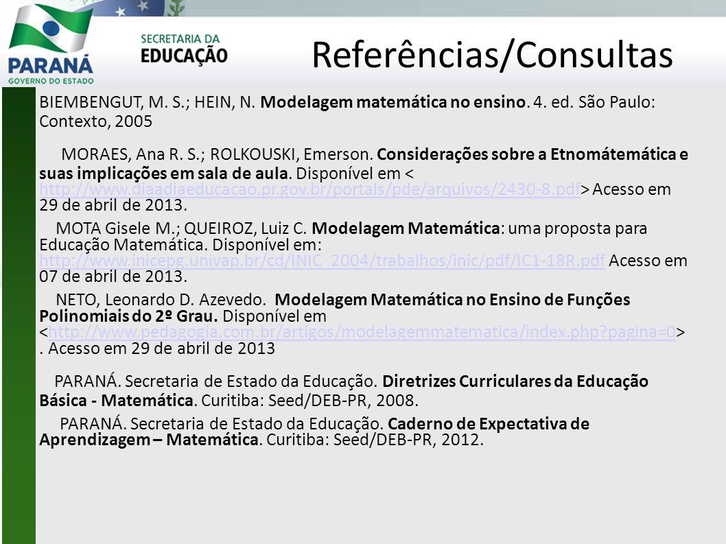 Referências/Consultas