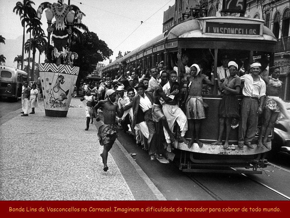 Bonde Lins de Vasconcellos no Carnaval