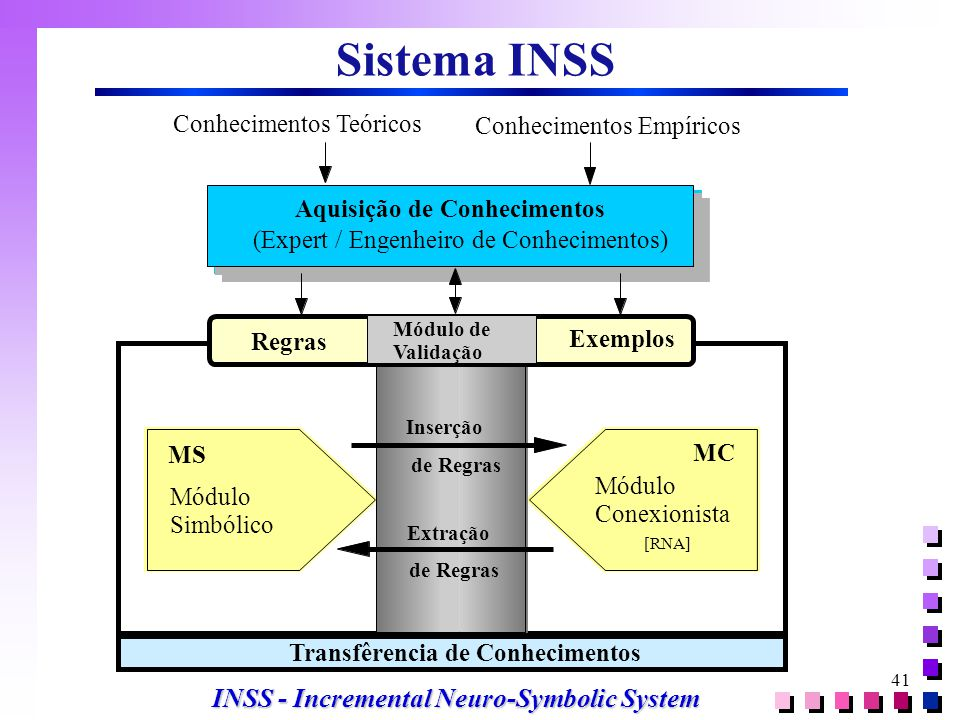 Sistema INSS INSS - Incremental Neuro-Symbolic System