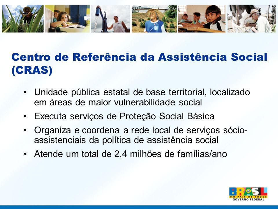 Centro de Referência da Assistência Social (CRAS)