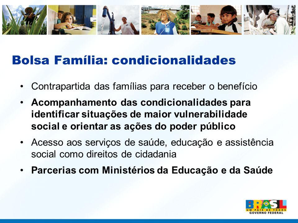 Bolsa Família: condicionalidades