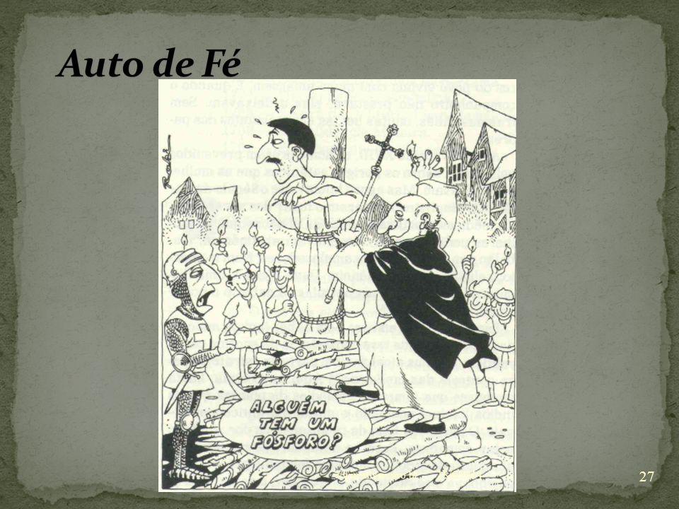 Auto de Fé www.nilson.pro.br 02/04/2017