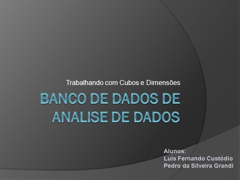 Banco de dados de analise de dados