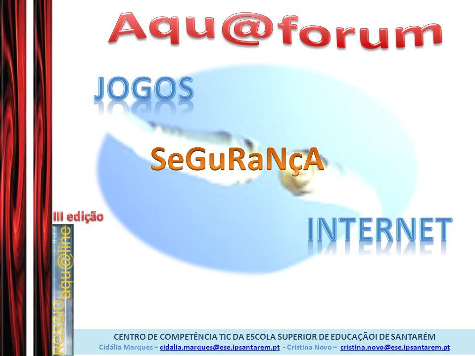 Aqu@forum JOGOS SeGuRaNçA InterNet
