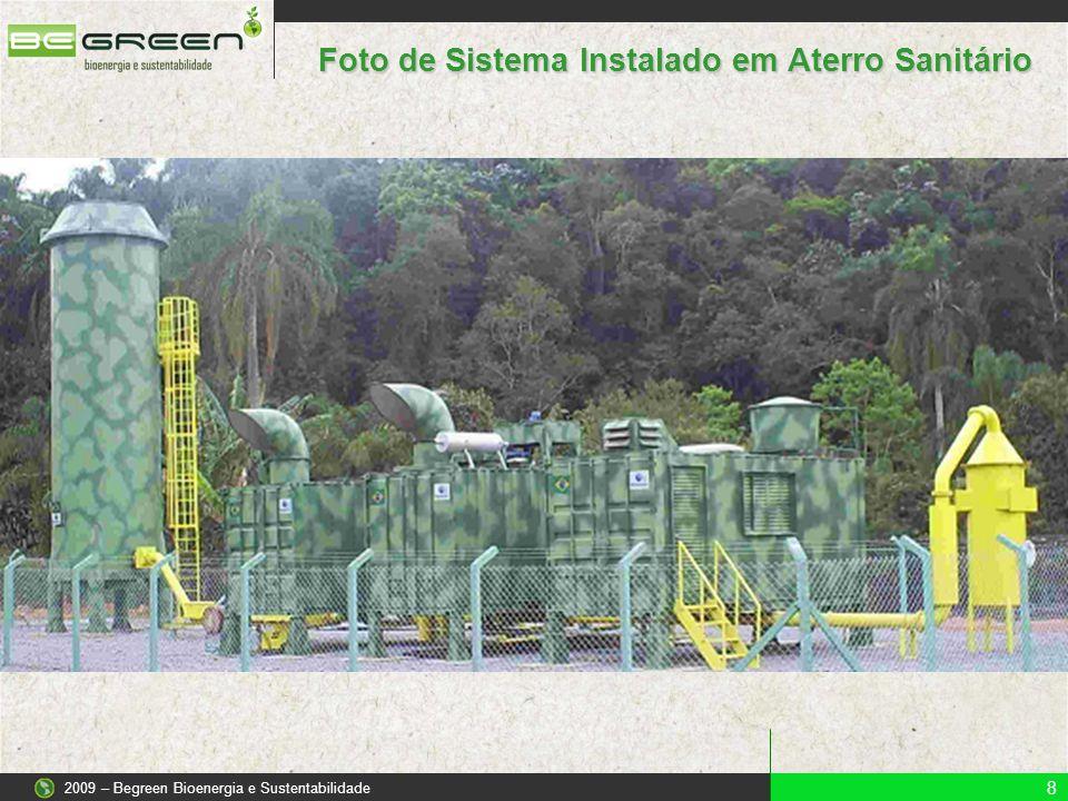 Foto de Sistema Instalado em Aterro Sanitário