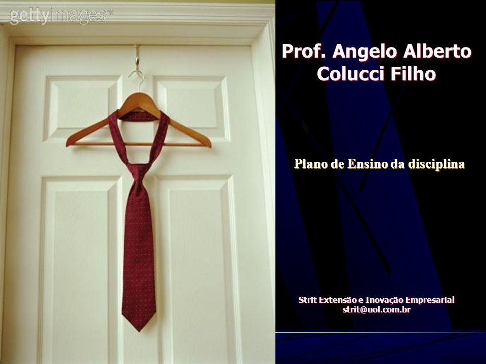 Prof. Angelo Alberto Colucci Filho