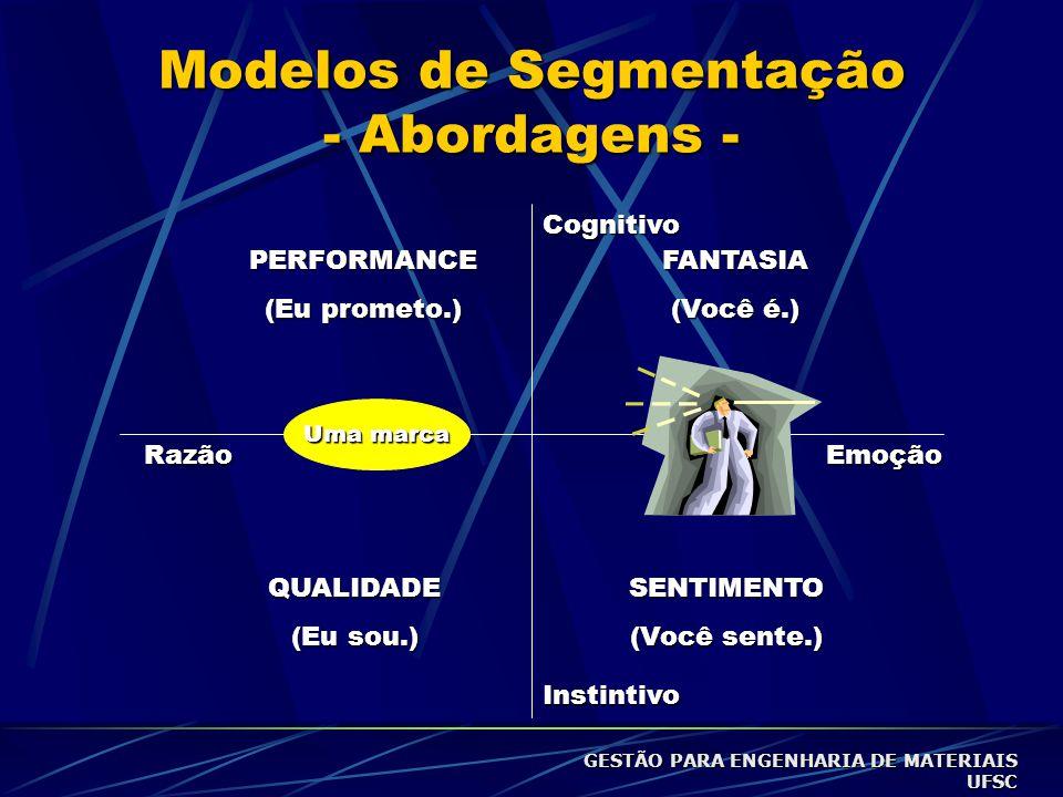Modelos de Segmentação - Abordagens -
