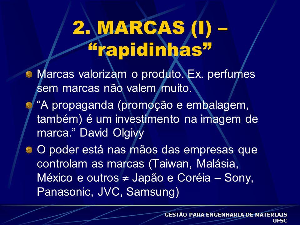 2. MARCAS (I) – rapidinhas