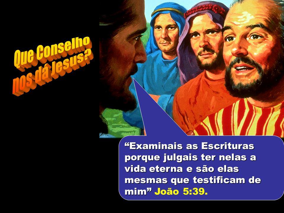 Que Conselho nos dá Jesus