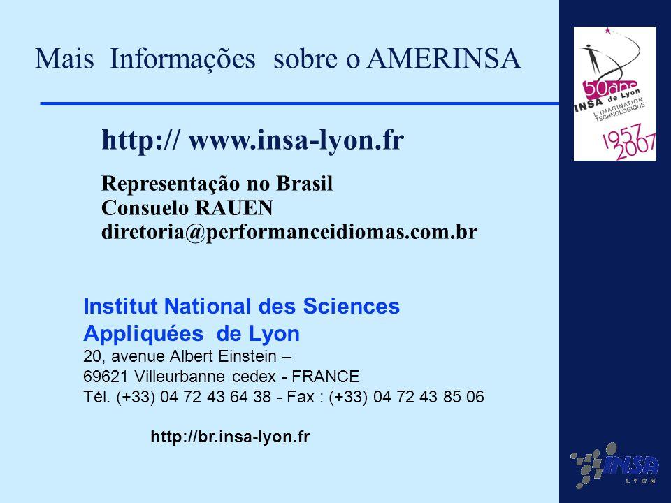 Mais Informações sobre o AMERINSA
