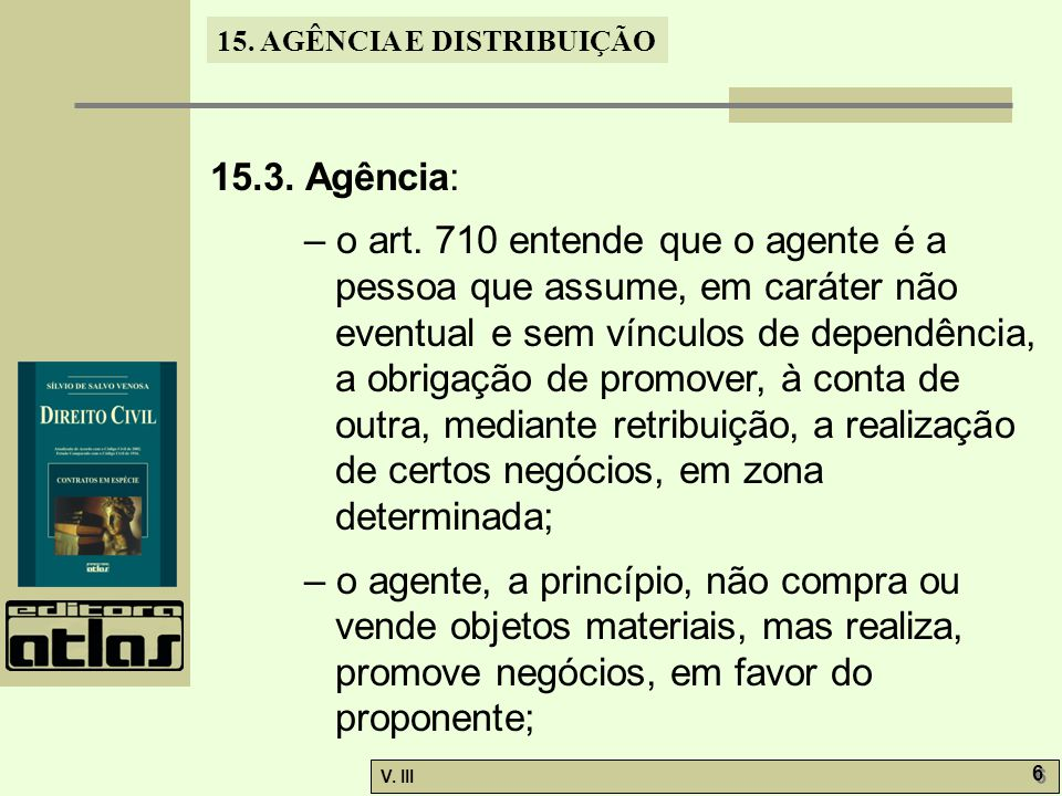 15.3. Agência: