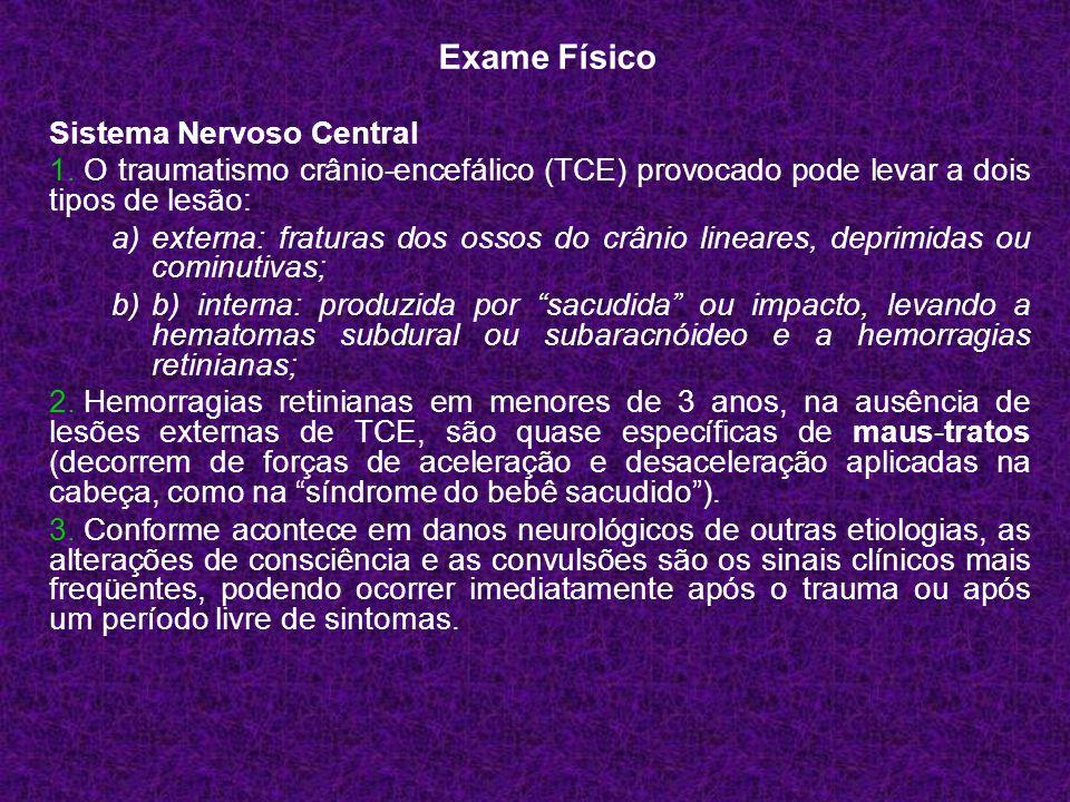 Exame Físico Sistema Nervoso Central