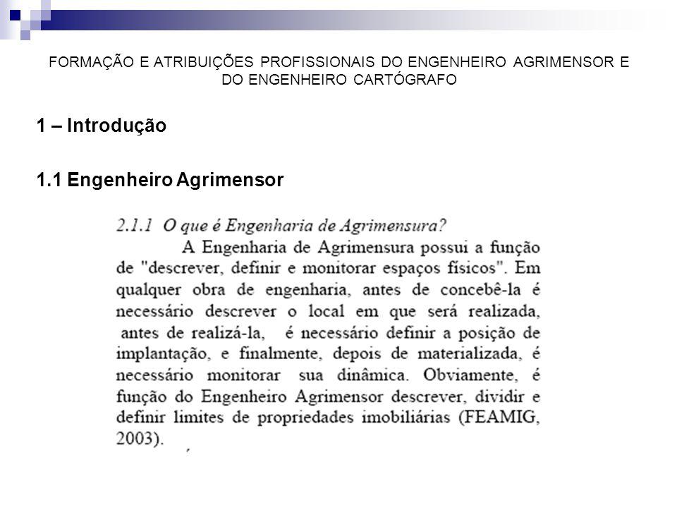 1.1 Engenheiro Agrimensor