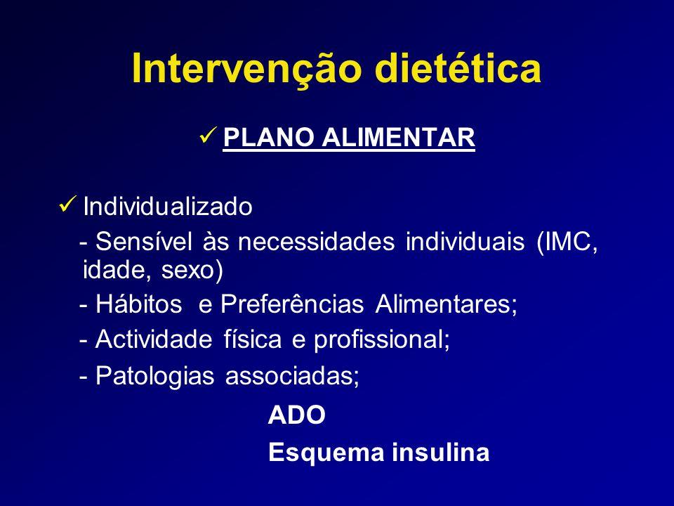 Intervenção dietética