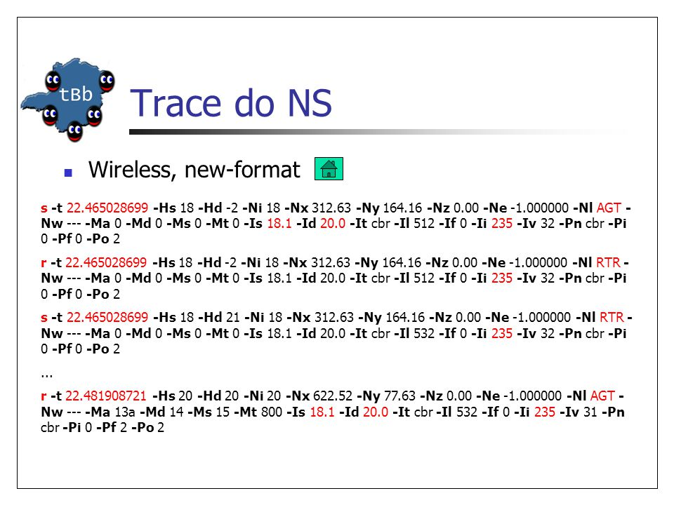 Trace do NS Wireless, new-format