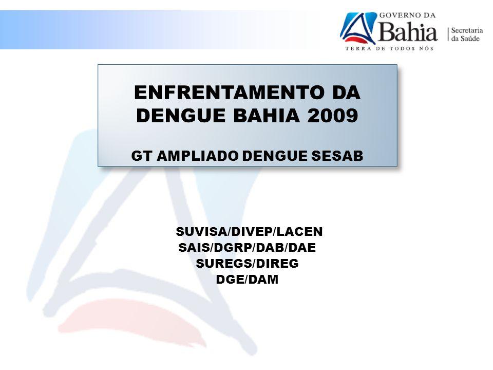 ENFRENTAMENTO DA DENGUE BAHIA 2009 GT AMPLIADO DENGUE SESAB