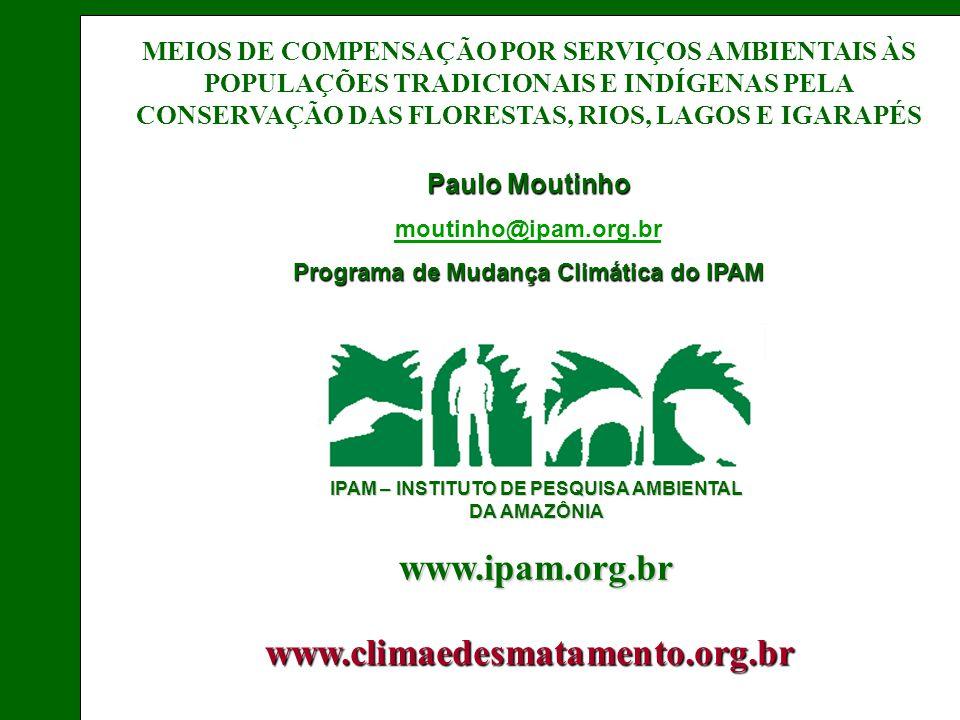 Programa de Mudança Climática do IPAM