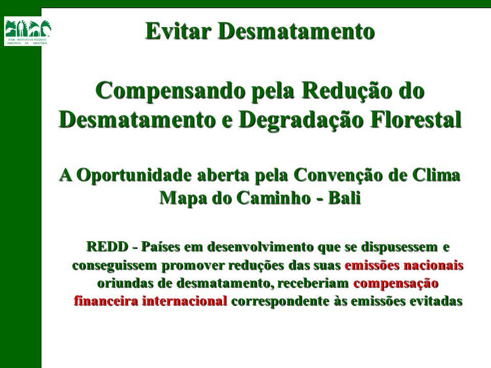 Compensando pela Redução do Desmatamento e Degradação Florestal