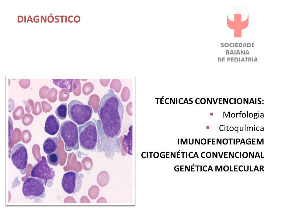 DIAGNÓSTICO TÉCNICAS CONVENCIONAIS: Morfologia Citoquímica