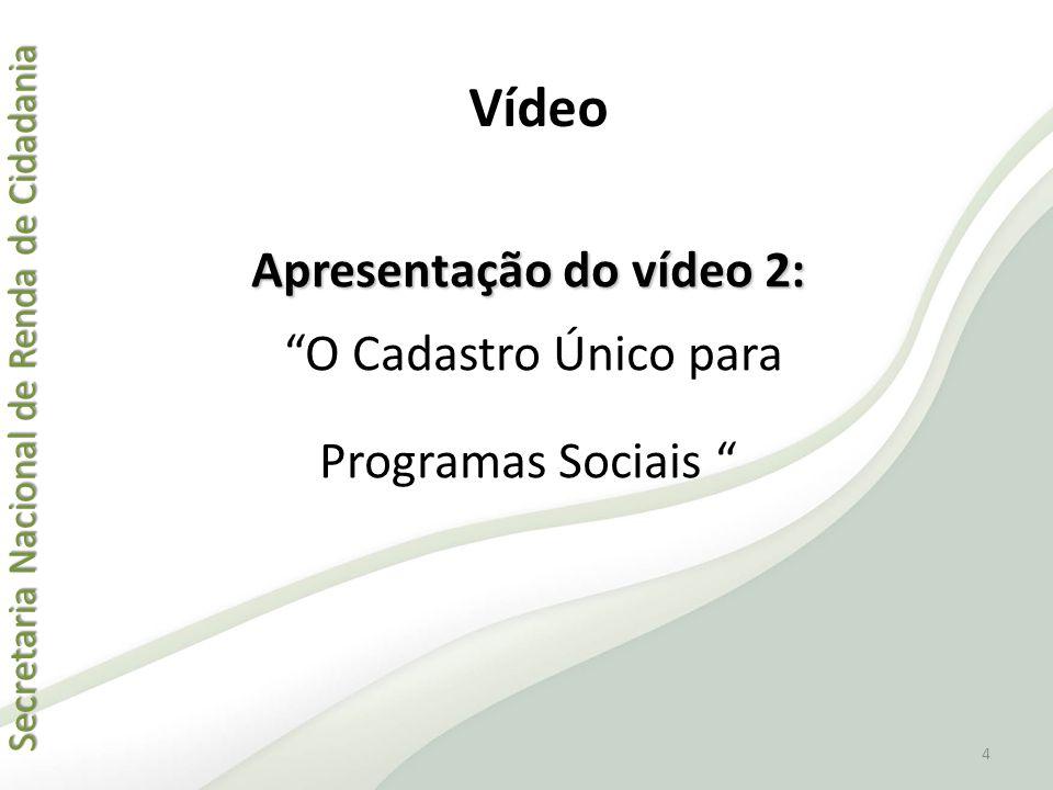 Apresentação do vídeo 2: