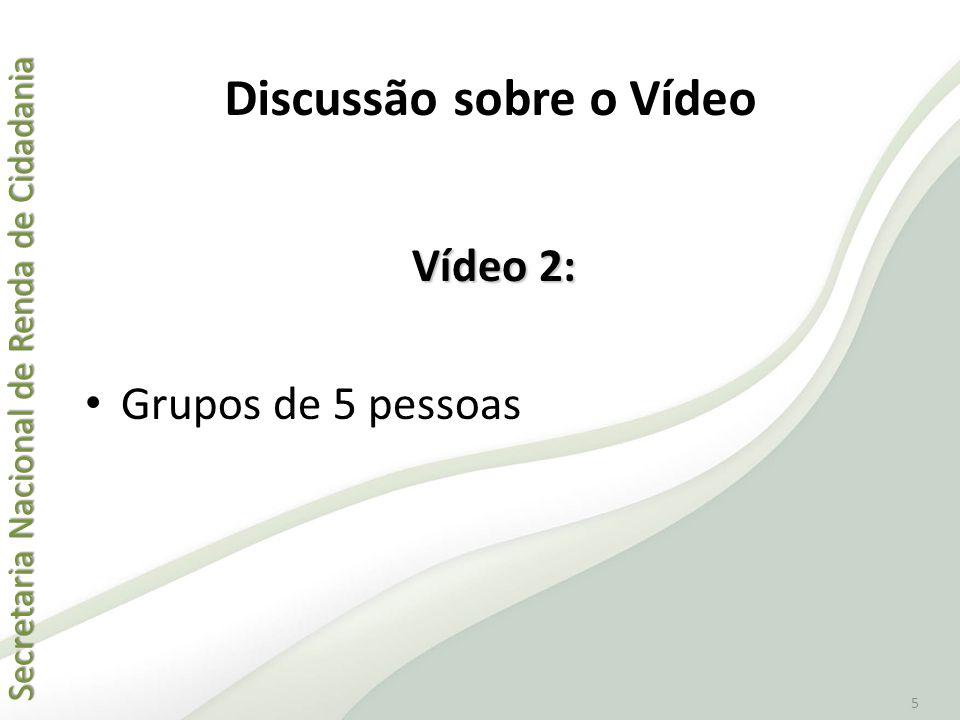 Discussão sobre o Vídeo