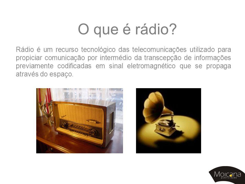 O que é rádio