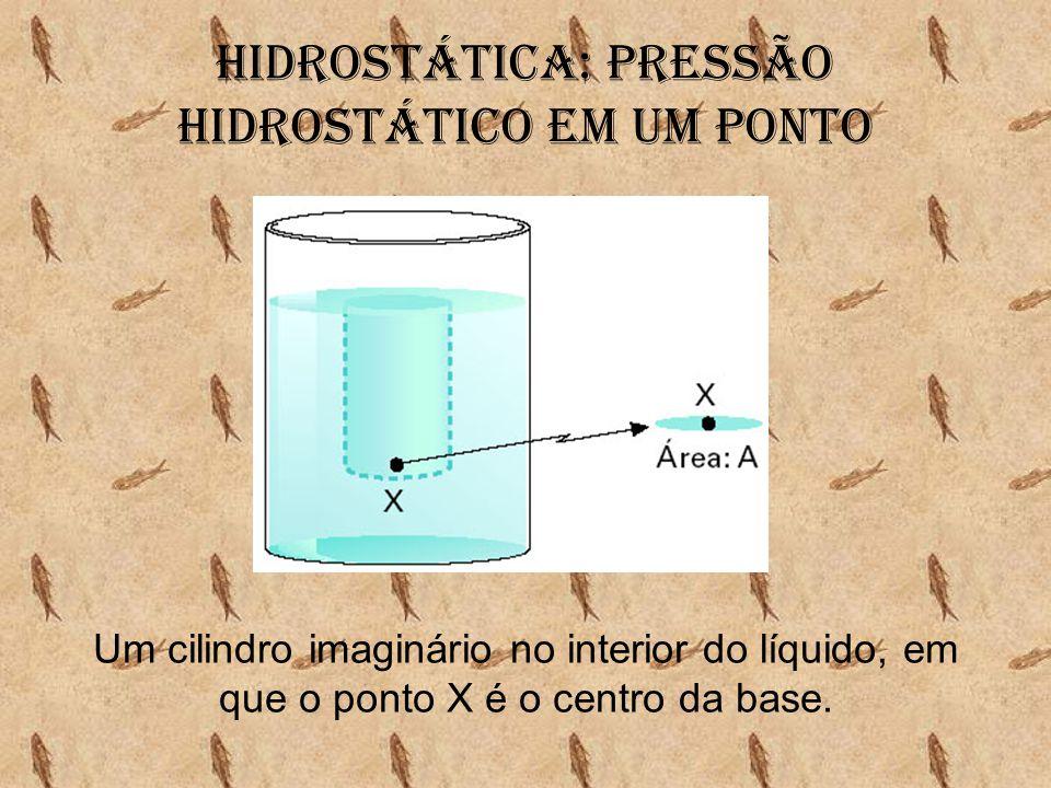 Hidrostática: Pressão hidrostático em um ponto