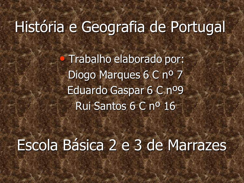 História e Geografia de Portugal