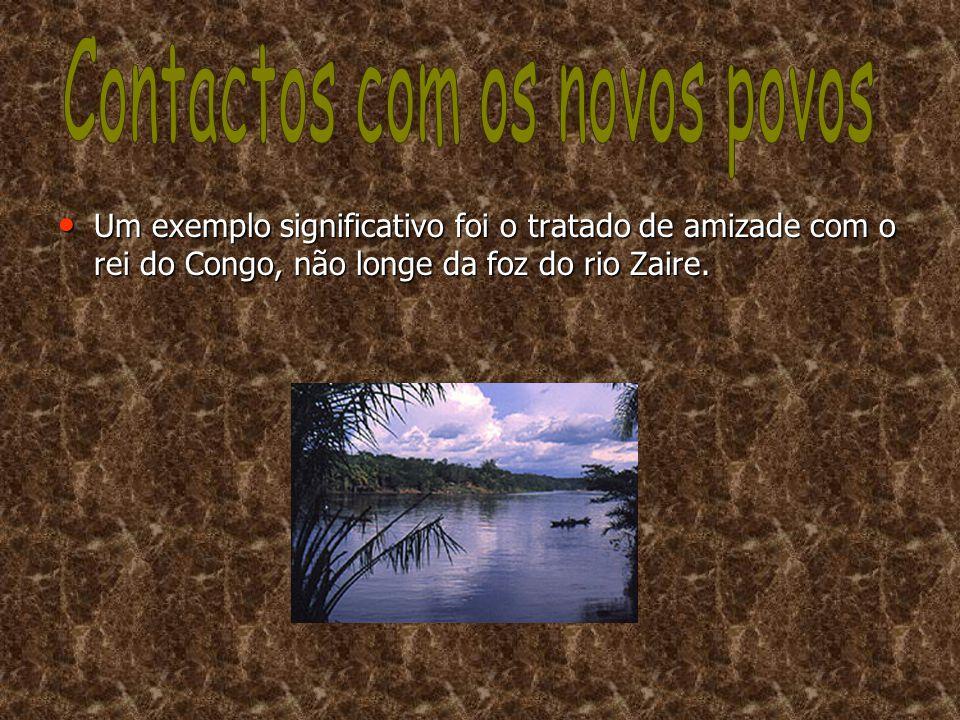 Contactos com os novos povos
