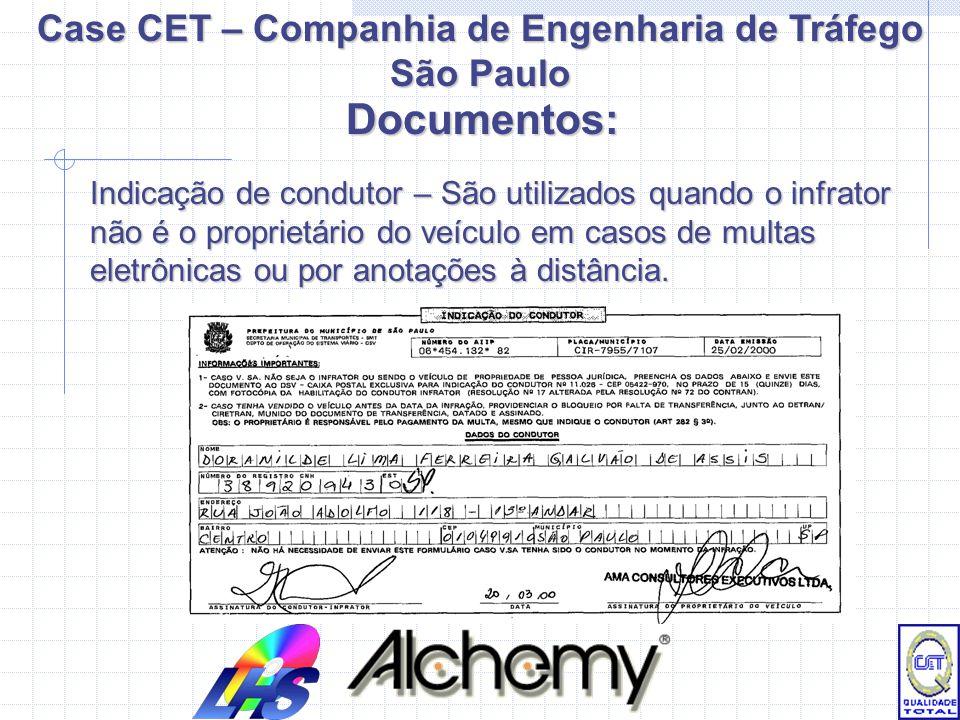 Case CET – Companhia de Engenharia de Tráfego São Paulo