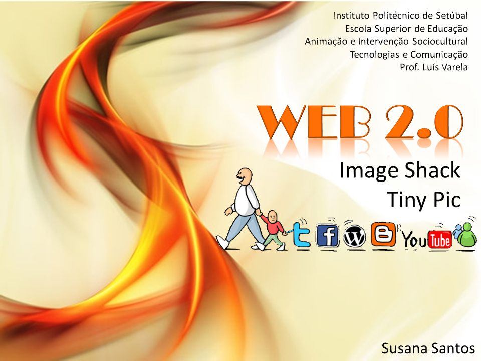 WEB 2.0 Image Shack Tiny Pic Susana Santos