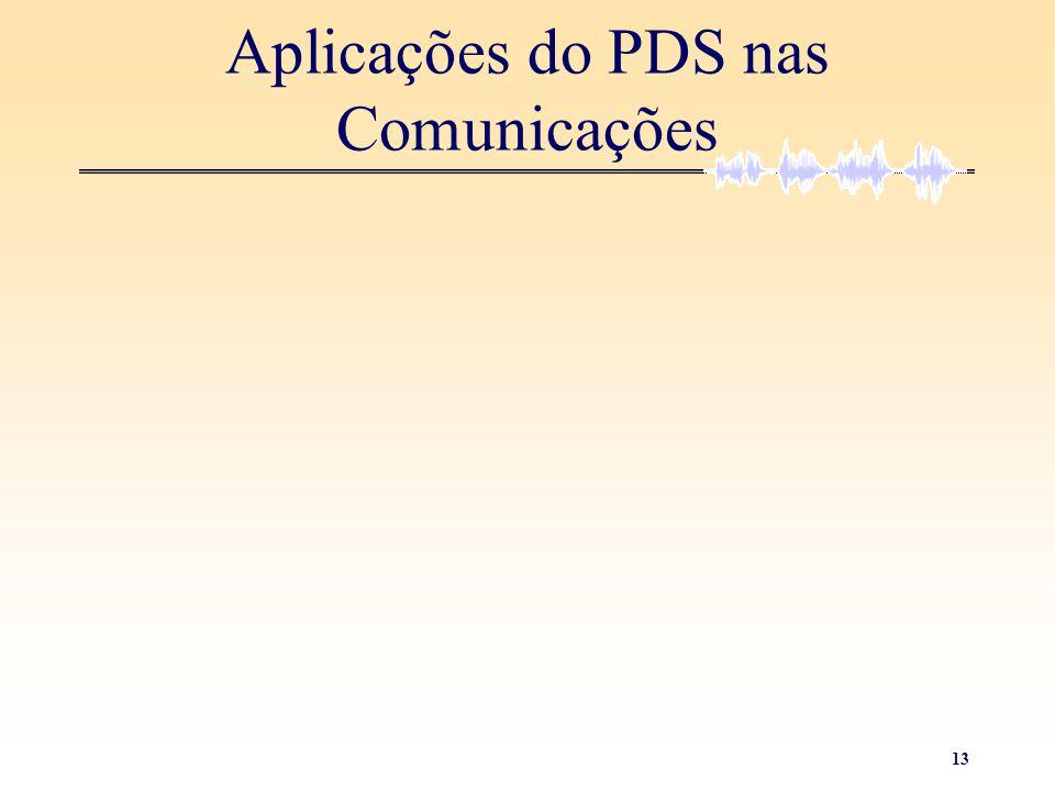 Aplicações do PDS nas Comunicações