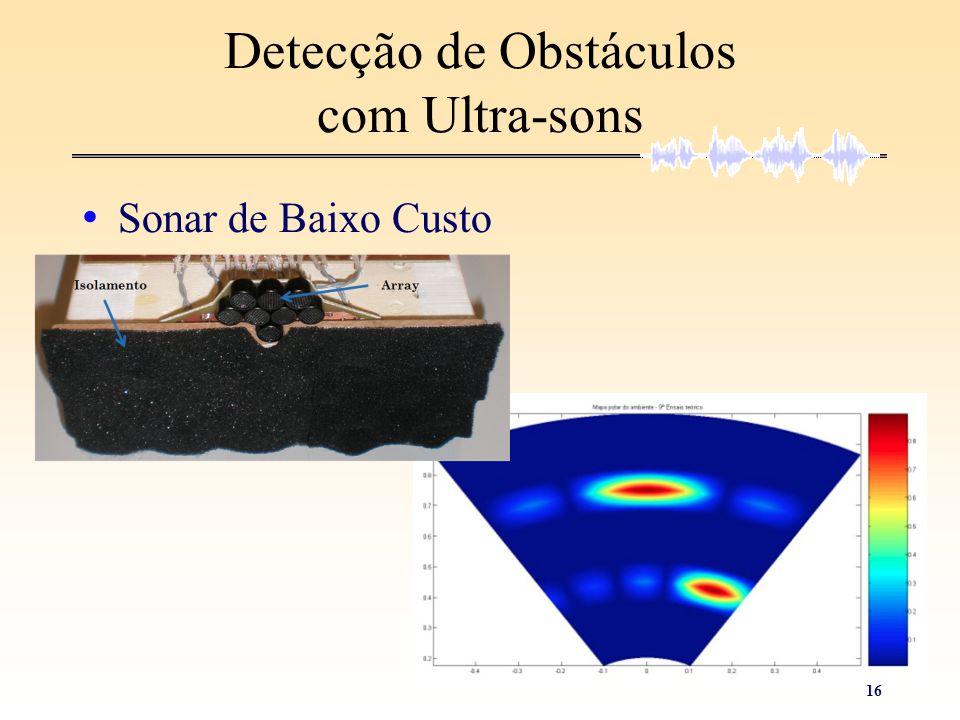 Detecção de Obstáculos com Ultra-sons