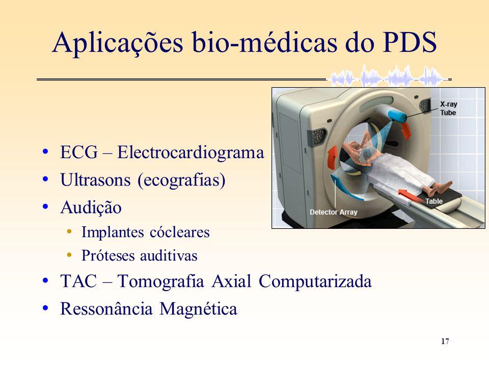 Aplicações bio-médicas do PDS