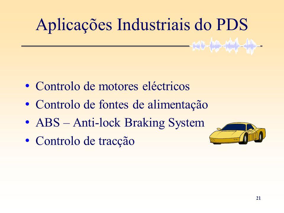 Aplicações Industriais do PDS
