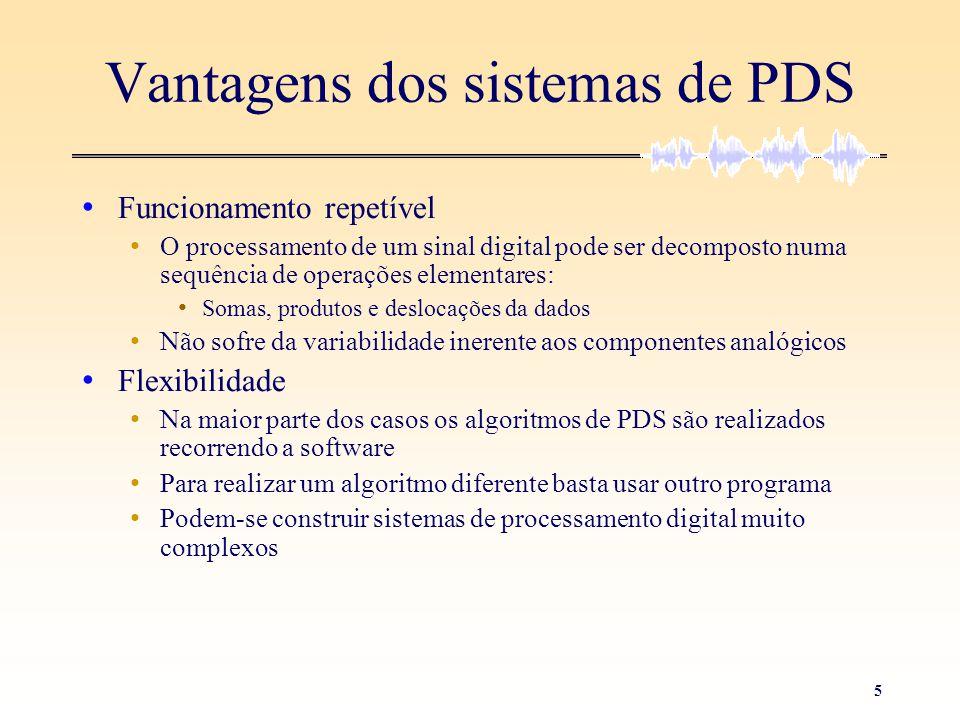 Vantagens dos sistemas de PDS