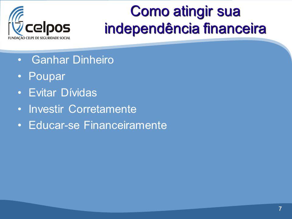Como atingir sua independência financeira