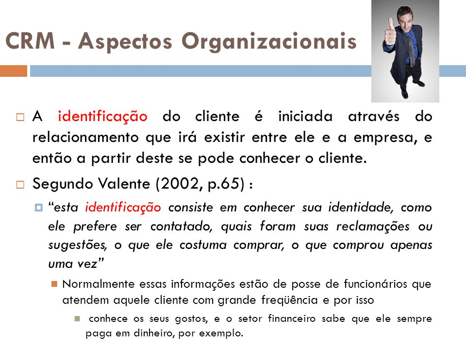 CRM - Aspectos Organizacionais