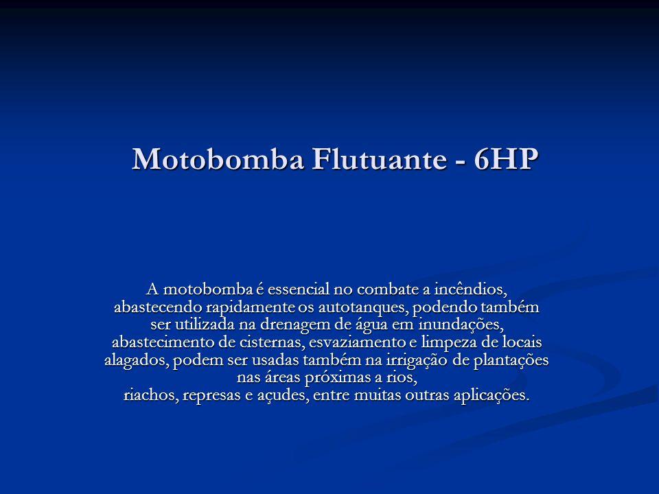Motobomba Flutuante - 6HP