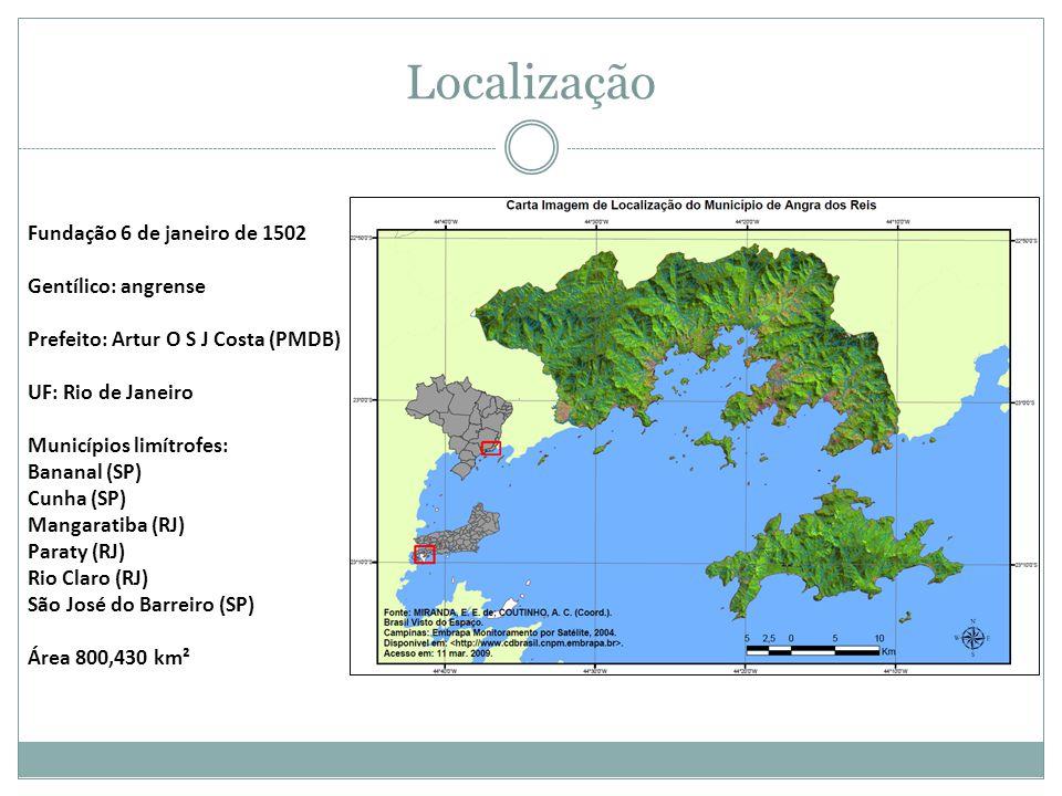 Localização Fundação 6 de janeiro de 1502 Gentílico: angrense