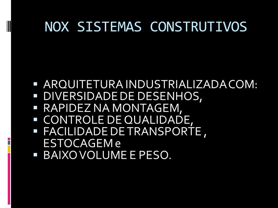 NOX SISTEMAS CONSTRUTIVOS