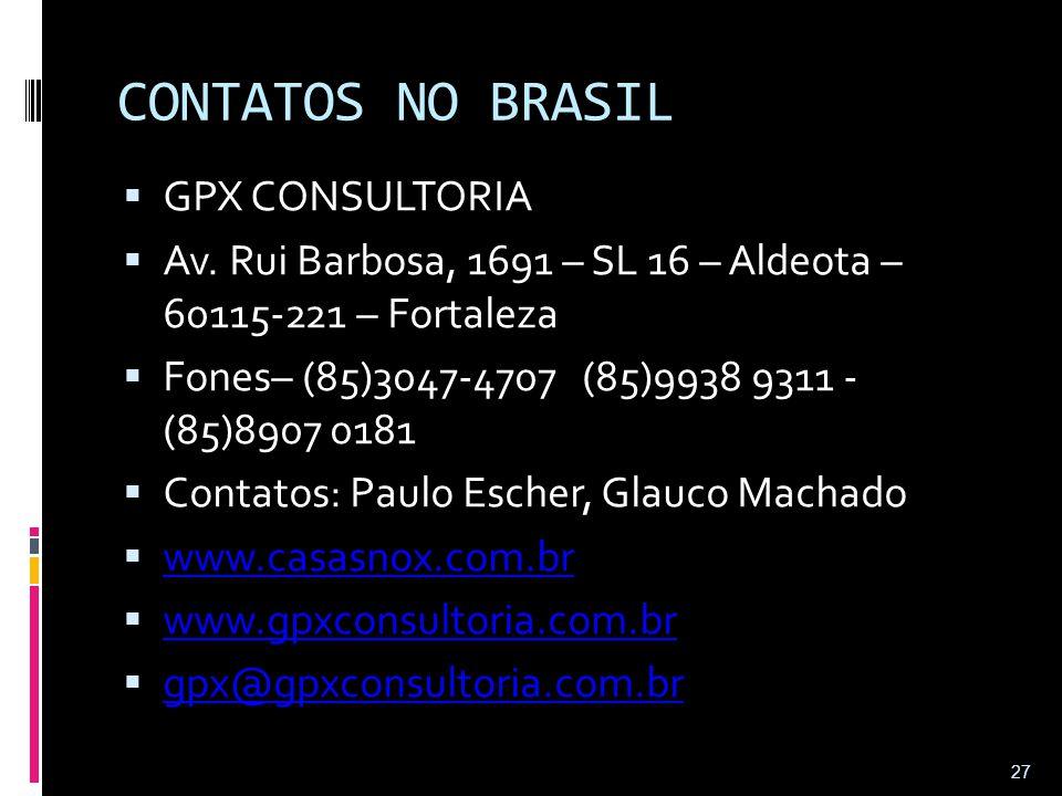 CONTATOS NO BRASIL GPX CONSULTORIA