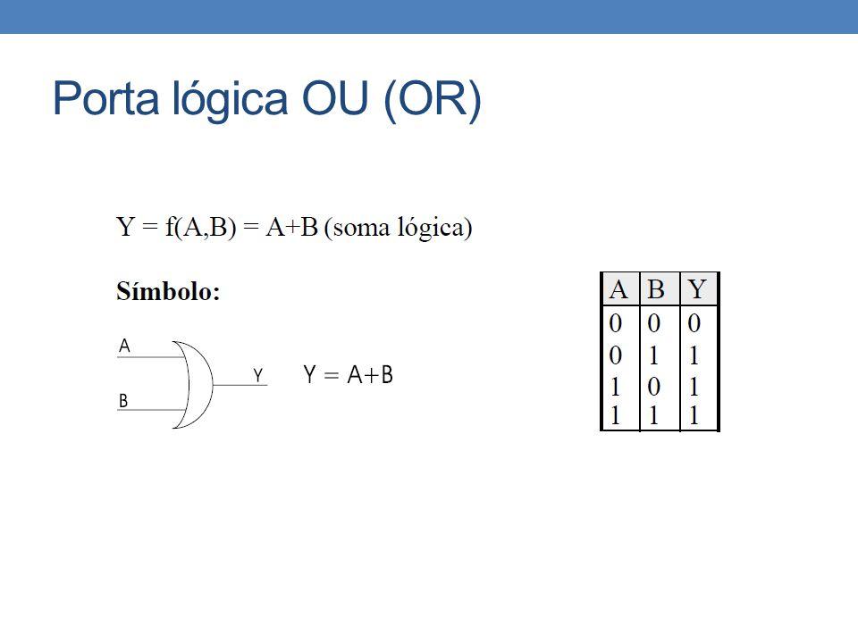 Porta lógica OU (OR)