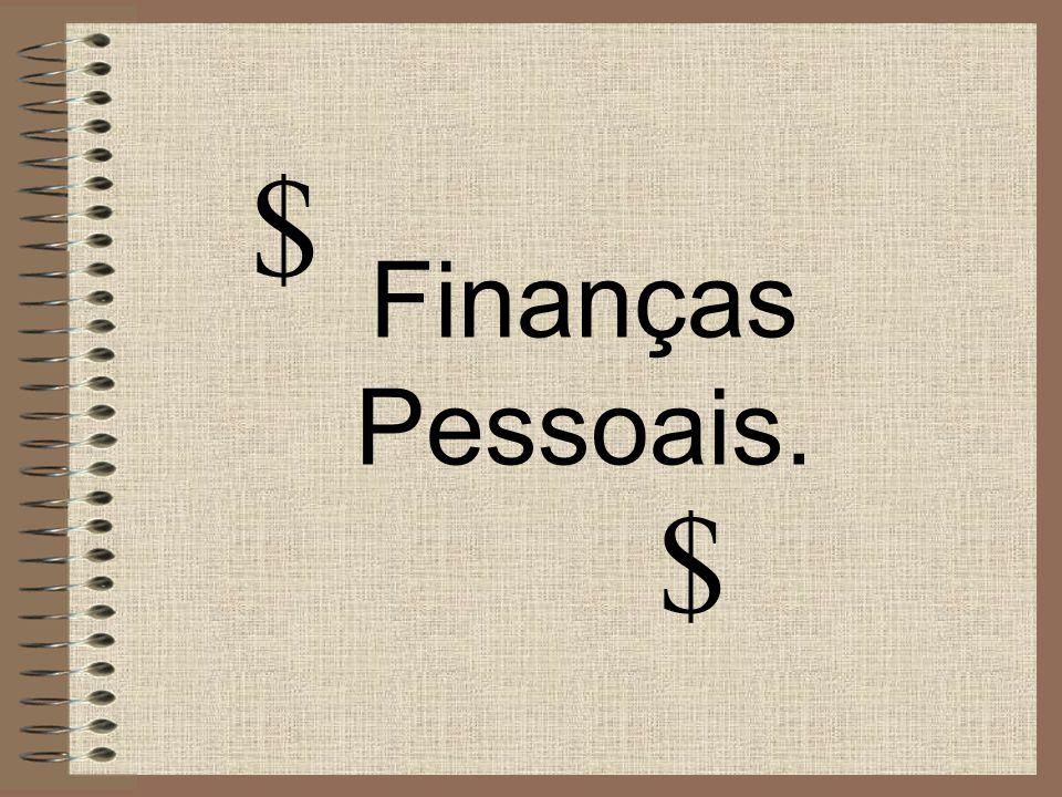 $ Finanças Pessoais. $