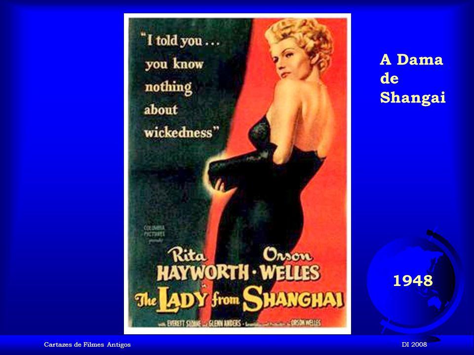 A Dama de Shangai 1948 Cartazes de Filmes Antigos DI 2008