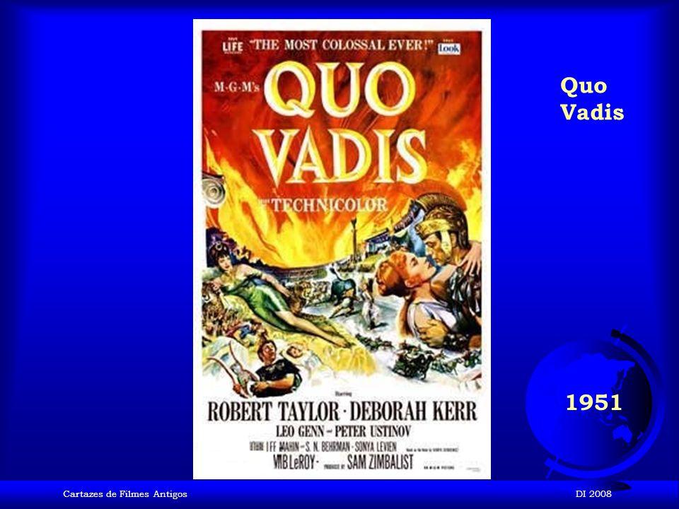 Quo Vadis 1951 Cartazes de Filmes Antigos DI 2008