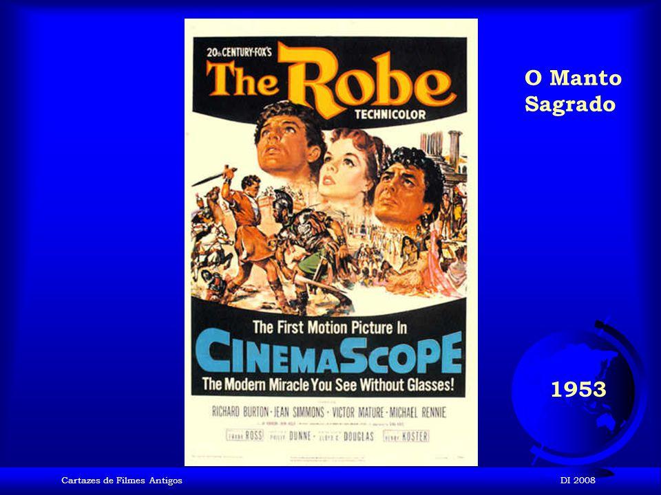 O Manto Sagrado 1953 Cartazes de Filmes Antigos DI 2008