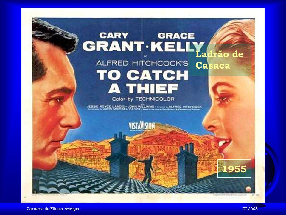Ladrão de Casaca 1955 Cartazes de Filmes Antigos DI 2008